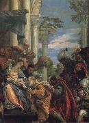 Tintoretto The Birth of St John the Baptist oil painting artist