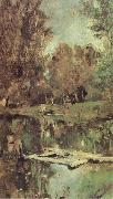 Valentin Serov Little Pond Abramtsevo oil painting picture wholesale
