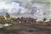 Valentin Serov A Village oil painting picture wholesale