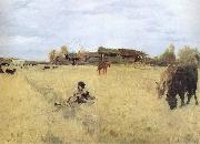 Valentin Serov October in Domotkanovo oil painting picture wholesale