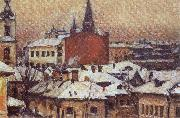 Vasily Surikov View of the Kremlin oil painting picture wholesale