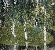 Alexander Yakovlevich GOLOVIN Birch oil painting picture wholesale