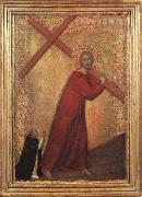 Barna da Siena Christ Bearing the Cross oil