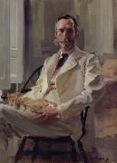 Cecilia Beaux Man with the Cat oil