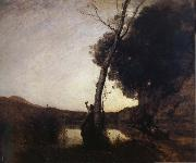 Corot Camille The morning star oil painting picture wholesale