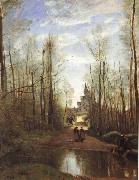 Corot Camille The church of Marissel oil painting picture wholesale