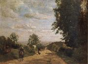 Corot Camille The road of sevres oil painting picture wholesale