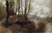 Corot Camille Path on the Rlo oil