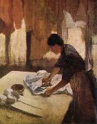 Edgar Degas Worker oil painting picture wholesale