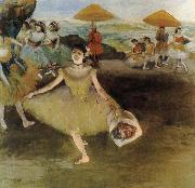 Edgar Degas Curtain call oil painting picture wholesale