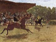 Edgar Degas Jumping the Gun oil painting picture wholesale