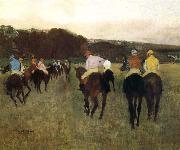 Edgar Degas Racecourse oil painting picture wholesale
