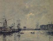 Eugene Boudin The Port Le Havre oil painting picture wholesale