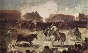 Francisco Goya The Bullfight oil painting picture wholesale