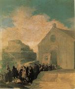 Francisco Goya Village Procession oil painting picture wholesale