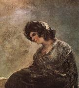 Francisco Goya Milkgirl from Bordeaux oil painting picture wholesale