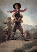 Francisco Goya Las Gigantillas oil painting picture wholesale