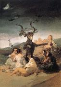 Francisco Goya L-Aquelarre oil painting picture wholesale