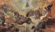 Francisco Goya Adoration of the Name of God by Angels oil painting picture wholesale
