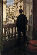 Gustave Caillebotte Young man near ther door oil painting picture wholesale