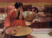 H.Siddons Mowbray Idle Hours oil painting picture wholesale