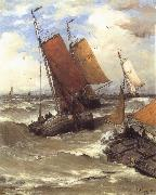 Hendrik Willem Mesdag Terug van de Vischvangst oil painting picture wholesale