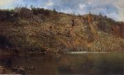 Homer Dodge Martin The Iron Mine,Port Henry oil painting picture wholesale