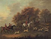 John Nost Sartorius Entering the Woods A Hunt oil painting picture wholesale