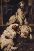 John emms Chumber Spaniels oil painting picture wholesale
