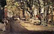Konstantin Korovin The Cafe of Yalta oil painting picture wholesale
