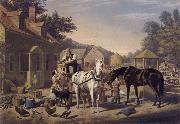 Nathaniel Currier Preparing for Market oil painting picture wholesale
