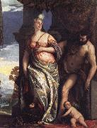 Paolo Veronese Allegory of Wisdom and Strength oil painting picture wholesale