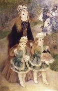 Pierre-Auguste Renoir Mother and Children oil painting picture wholesale