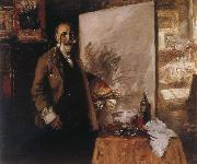 William Merritt Chase Self-Portrait oil painting artist