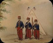 unknow artist Three Boys in Zouave Costume oil painting picture wholesale