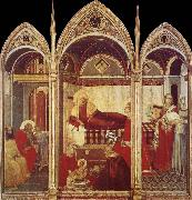 Ambrogio Lorenzetti Birth of the Virgin oil painting picture wholesale