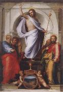 BARTOLOMEO, Fra Christ with the Four Evangelists oil painting picture wholesale