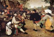 BRUEGEL, Pieter the Elder Peasant dance oil painting picture wholesale