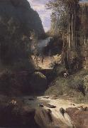 Carl Blechen Gorge near Amalfi oil painting artist