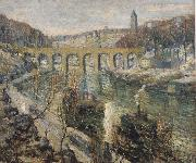 Ernest Lawson The Bridge oil painting artist