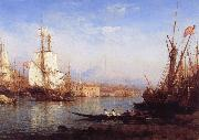 Felix Ziem The Bosporus oil painting