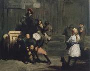 George Bellows Kids oil painting picture wholesale