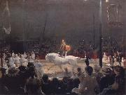 George Bellows The Circus oil painting artist