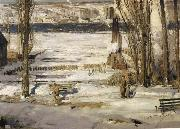 George Wesley Bellows A Morning Snow oil painting picture wholesale