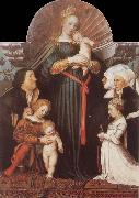 HOLBEIN, Hans the Younger Damstadt Madonna oil painting picture wholesale