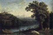Jakob Philipp Hackert Landscape with River oil painting picture wholesale