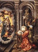 Jan Gossaert Mabuse St Luke painting the Virgin oil painting picture wholesale