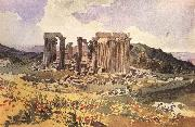 Karl Briullov The Temple of Apollo Epkourios at Phigalia oil painting picture wholesale