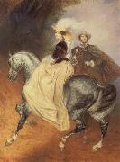 Karl Briullov Riders oil painting picture wholesale