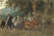 Karl Briullov Promenade oil painting picture wholesale